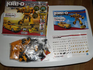 LEGO Compatible KRE-O Transformers Bumblebee Bumble Bee
