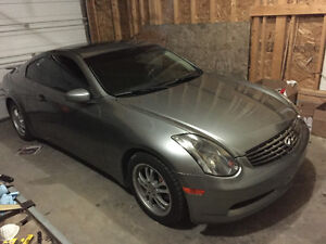 2004 Infiniti G35 Coupe (2 door) supercharged