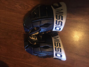 Pair of hockey gloves barely used