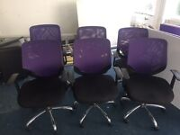 Office Swivel Chairs x6