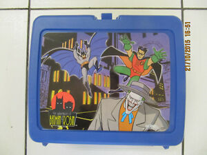 Classic The Adventures Of Batman&Robin Thermos Lunchbox 1995