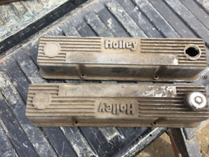 SMALL BLOCK CHEVY HOLLEY VALVE COVERS