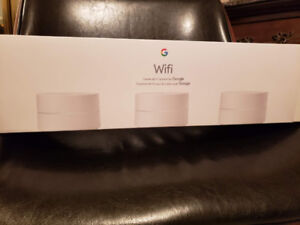 Google Wifi AC1200 Whole Home Mesh Wi-Fi System - 3 Pack