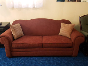 Couch and double pull-out