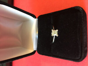 14K Engagement Ring - Size 7