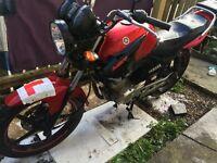 2012 yamaha ybr 125 for sale