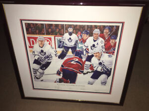 Leafs vs Canadiens Classic Confrontation Wendel Clark Gilmour