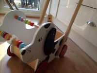 Wooden dog walker / dog pram sturdy
