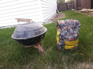 Small charcoal bbq