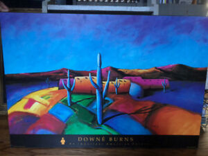 Downe Burns -An Important American Painter -Painting