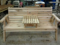 Hand Made Cedar Lawn Furniture