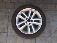 Vauxhall Sri 2007 alloy with Goodyear tyre