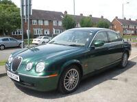 2006 Jaguar S-TYPE 2.7D V6 auto SE 4DR 56REG Petrol Green
