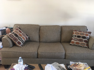 Sofa and Chair and a half by Serta Upholstery