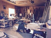 Woodworking Shop For Rent