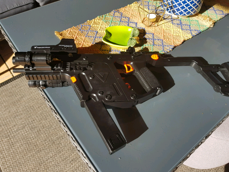 Kriss Vector Gel Blaster With Accesories In Mint Condition | Toys
