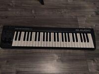 M audio key station 49 midi keyboard (£35 IF GONE THIS WEEK)