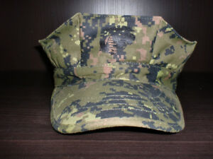 Digital Woodland Camouflage Military Utility 8 Pointed Cap