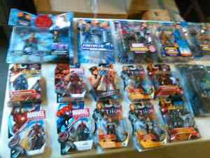 ACTION FIGURES FOR SALE 50 TOYS  CHOOSE FROM MARVEL, DC