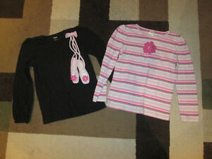 Gymboree sz 7 fall/winter tops and bottoms.