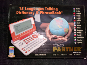 15 language talking dictionary and phrasebook $40 obo