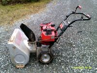 Snowblower for parts or repair