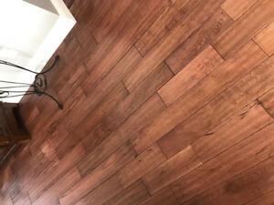 Plancher de bois franc/ Hardwood flooring