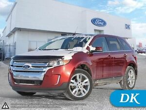2014 Ford Edge Limited w/Panoramic Moonroof, Leather, Navigation