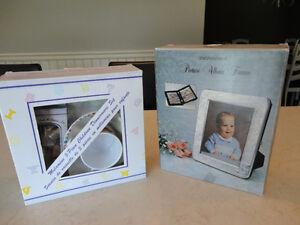 "Baby 5 Pc. Dinnerware Set & 5 x7"" Engraveable Picture Album Book Kitchener / Waterloo Kitchener Area image 1"