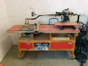 Table saw / radial arm saw/wood planer