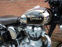 ROYAL ENFIELD BULLET CLASSIC 500 CHROME EFI MOTORCYCLE