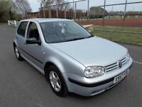 Volkswagen Golf 1.6 2001MY SE NEW M.O.T HPI CLEAR WARRANTY INCLUDED