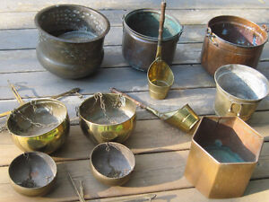 Assorted Vintage & New Flower Pots and Decor for Sale