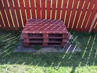 Pallets and slabs free to good home