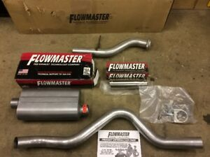 Flowmaster Force II Exhaust System for Chevy Trucks