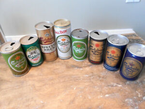 Canettes Heineken et Carlsberg - Collection