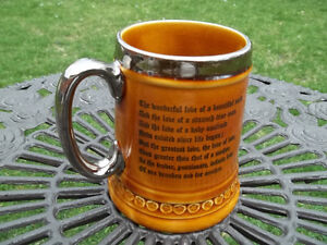 Lord Nelson Pottery vintage Steined Mug made in England coachmen West Island Greater Montréal image 2