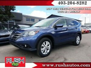 2013 Honda CR-V EX 4WD 5-Speed AT  - Sunroof -  Heated Seats