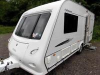 Elddis Odyssey 482 2008 2 Berth High Spec Touring Caravan In Pristine Condition