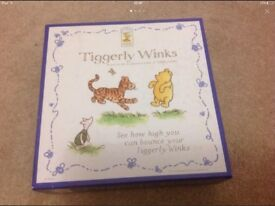 DISNEY CLASSIC POOH GAME - TIGGERLY WINKS
