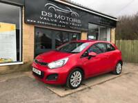 2012 KIA RIO 2 1.4 PETROL RED 3 DOOR 61k