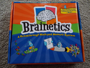 New! BRAINETICS Kit -Math and Memory System