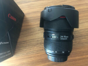Canon Ef L 24-70mm II f2.8 lens for sale
