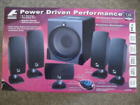 Acoustic Authority A5640 5.1 Speaker System 140W