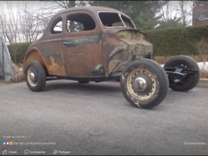 Ford coupe 1939 rat rod
