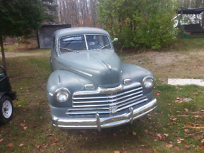 1948 Ford Monarch..CAN BE SEEEN AT WHITNEY ONTARIO