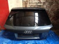Audi A3 8p 2004 -2012 3 door s-line s3 boot lid with spoiler