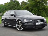 Audi A4 Avant 2.0 TDI Black Edition Multitronic 5dr (black) 2012