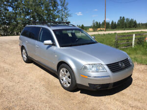 -2003 Volkswagen Passat Wagon Manual-