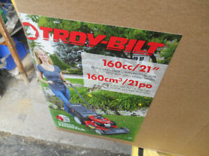 New Open Box TroyBuilt 21'' Mower